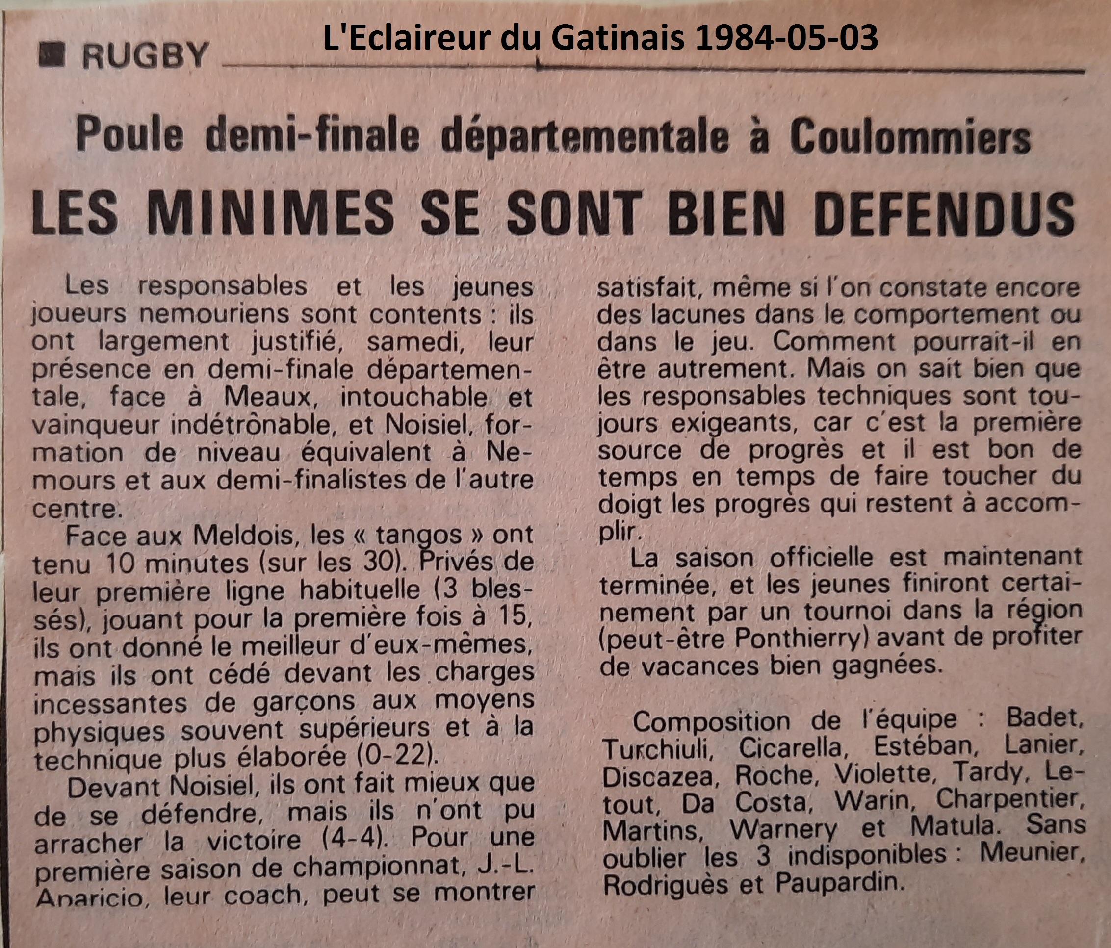 Eclaireur du Gâtinais 1984-05-03