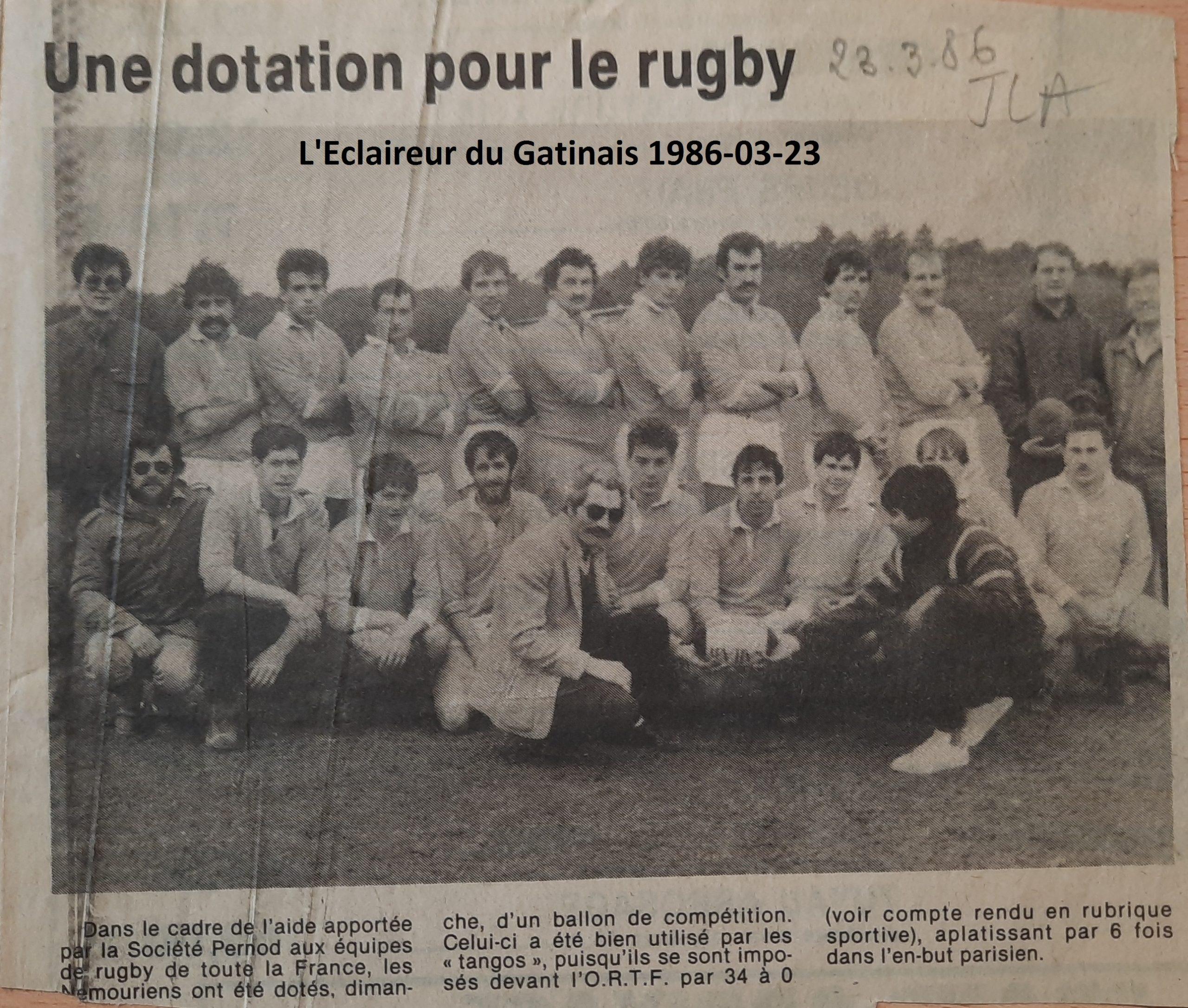 Eclaireur du Gâtinais 1986-03-23
