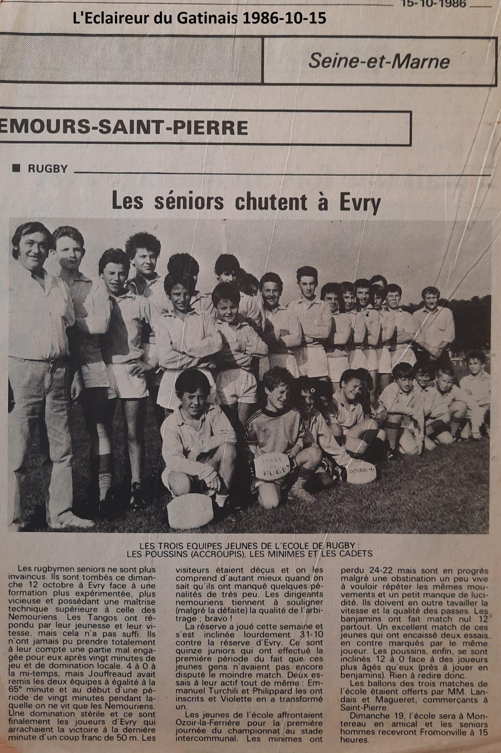 Eclaireur du Gâtinais 1986-10-15