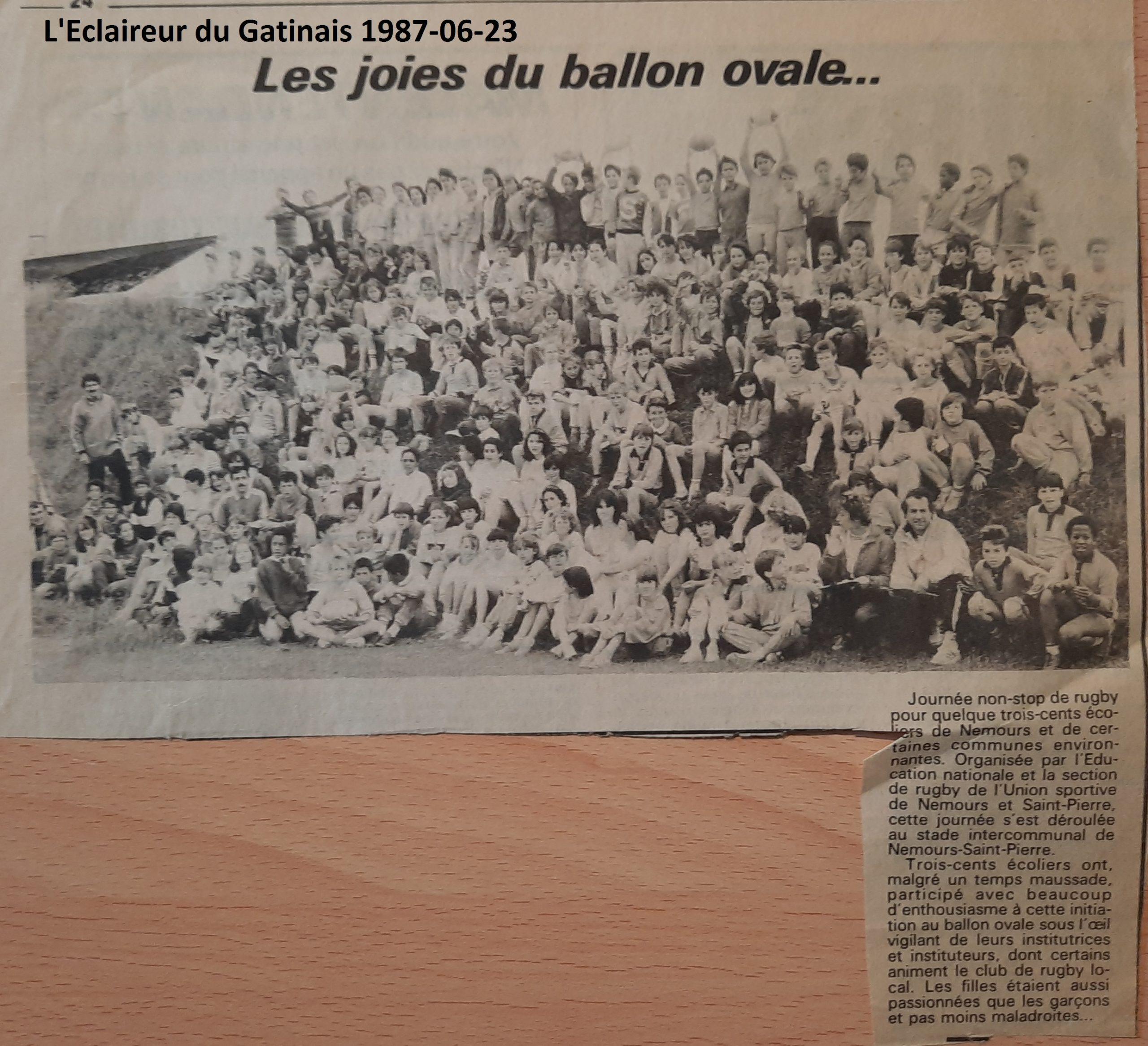 Eclaireur du Gâtinais 1987-06-23
