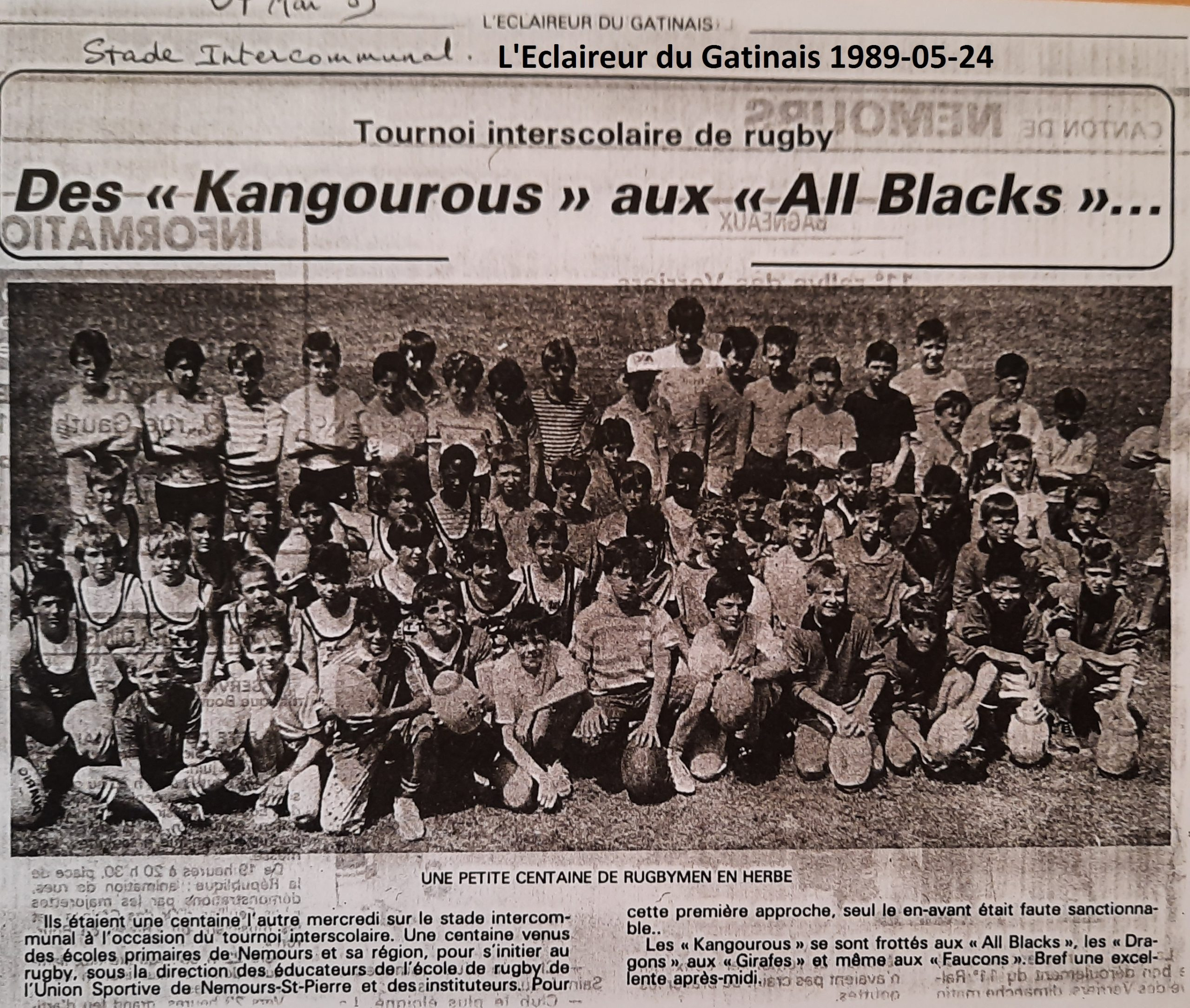 Eclaireur du Gâtinais 1989-05-24