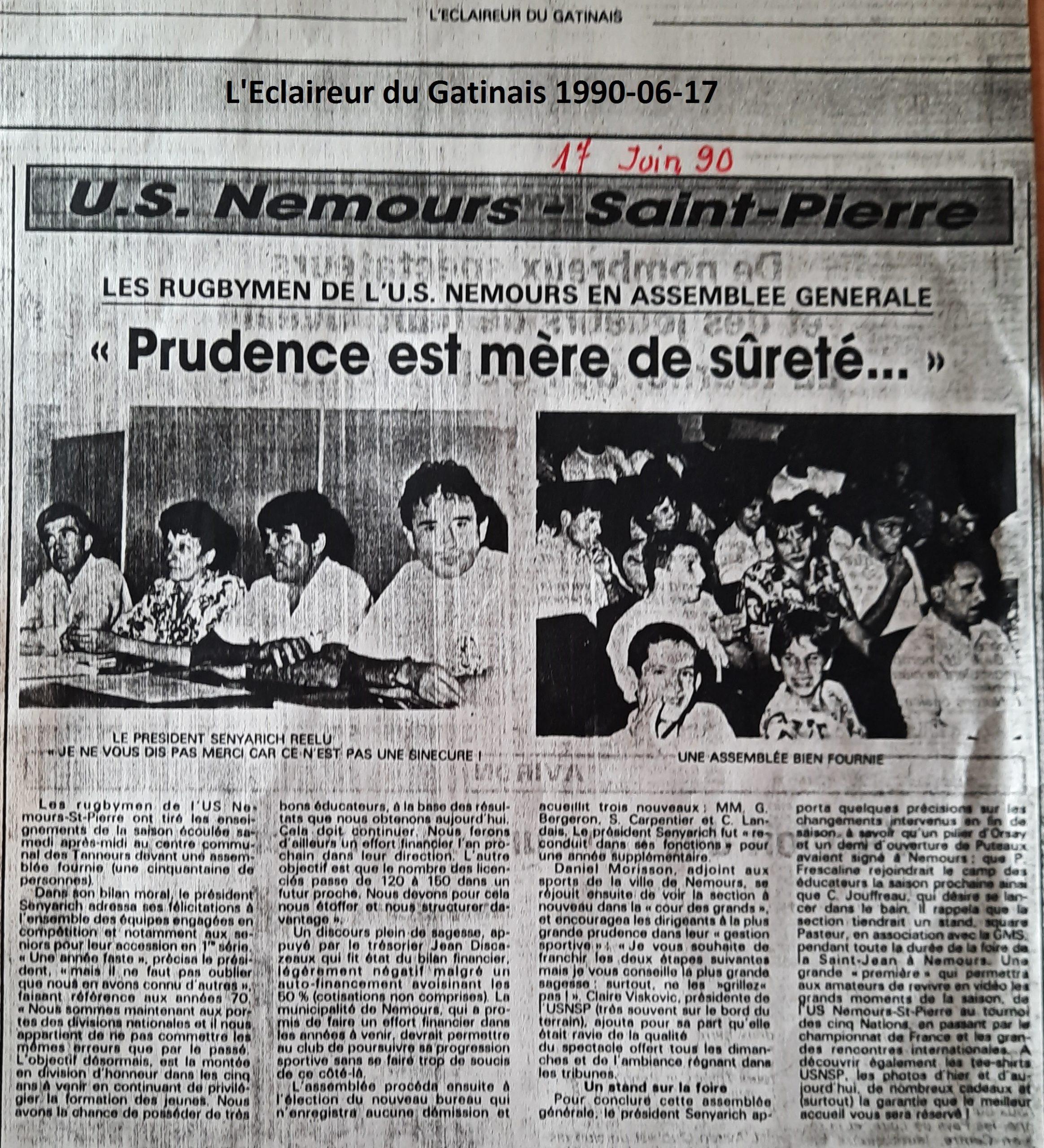 Eclaireur du Gâtinais 1990-06-17