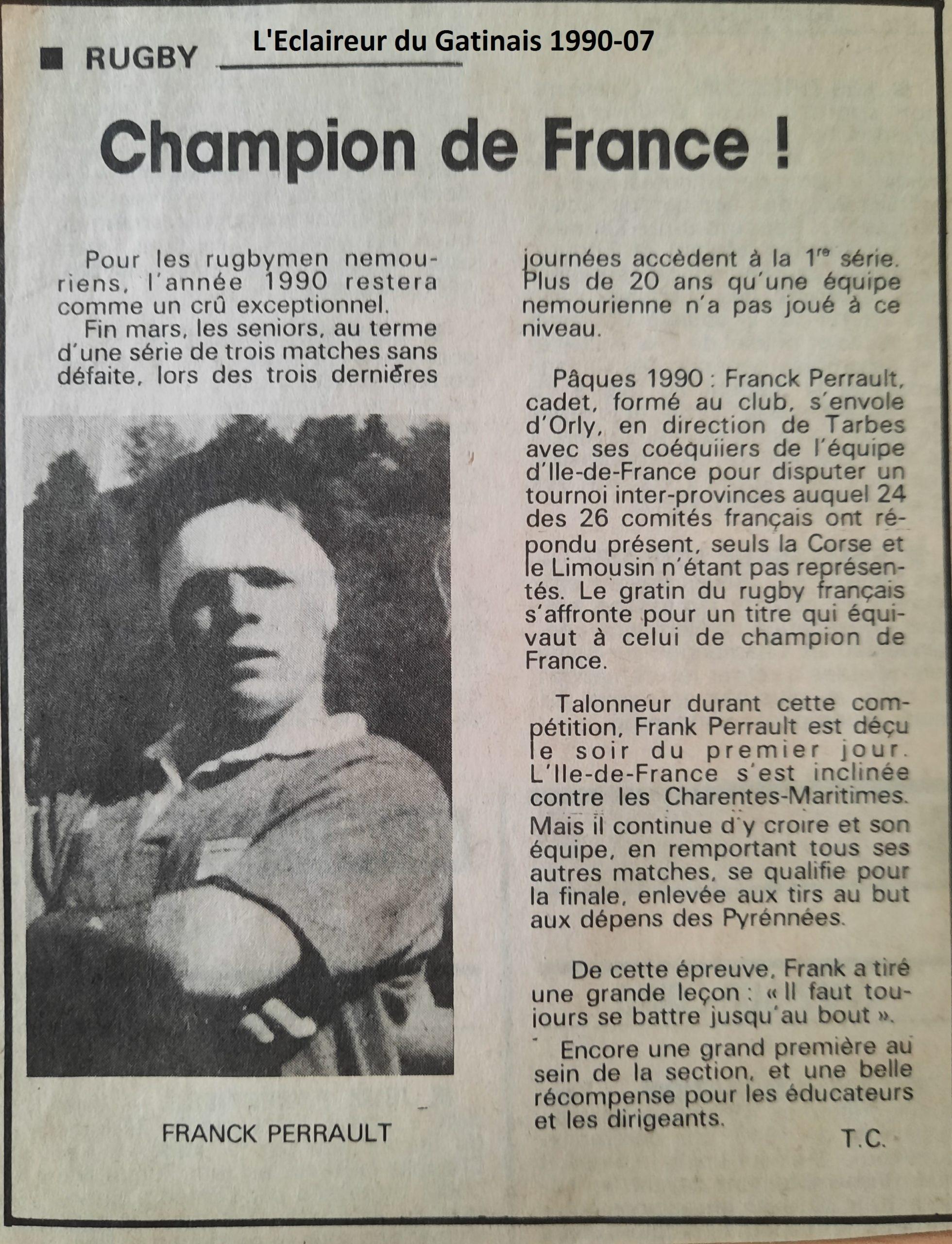 Eclaireur du Gâtinais 1990-07