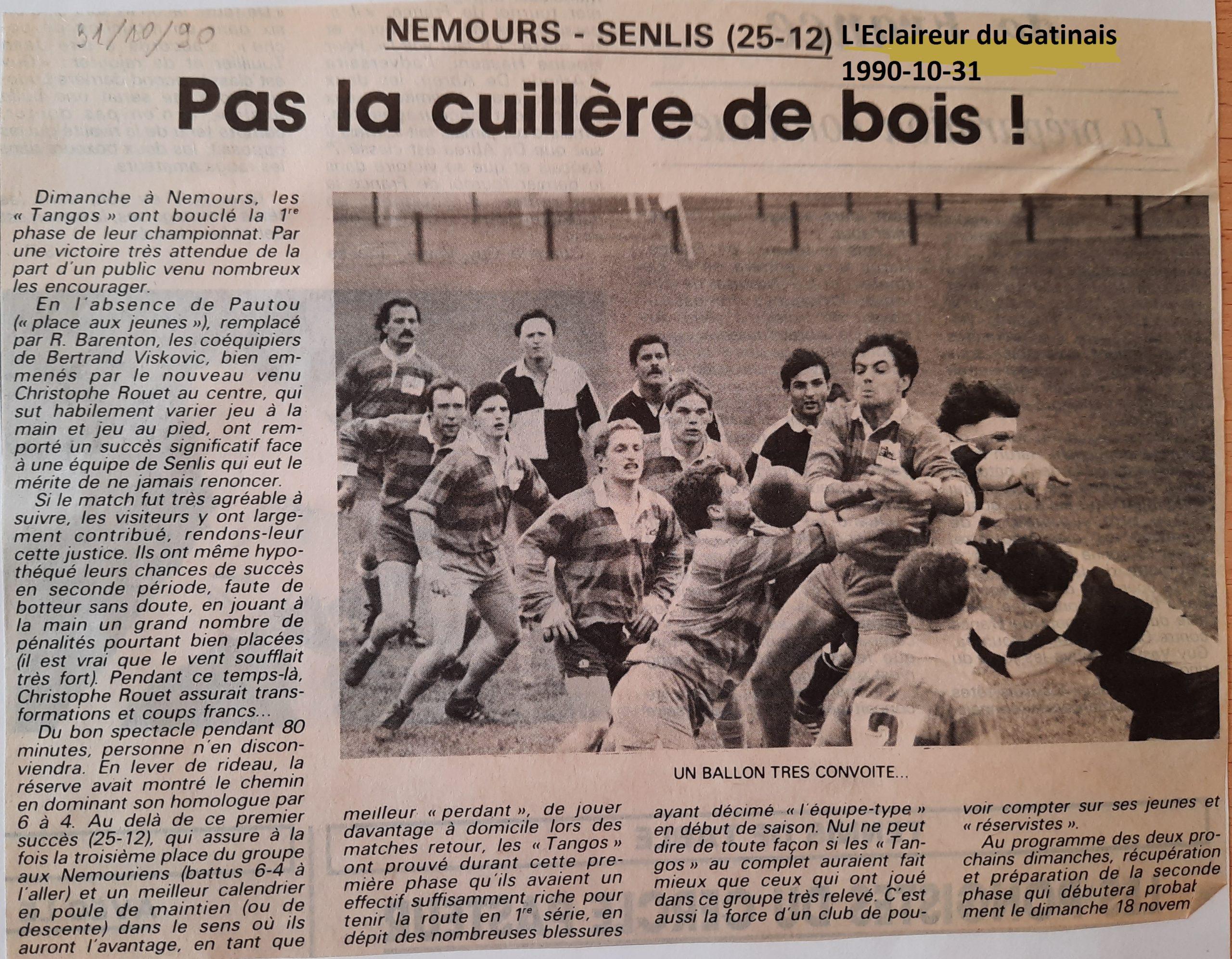 Eclaireur du Gâtinais 1990-10-31