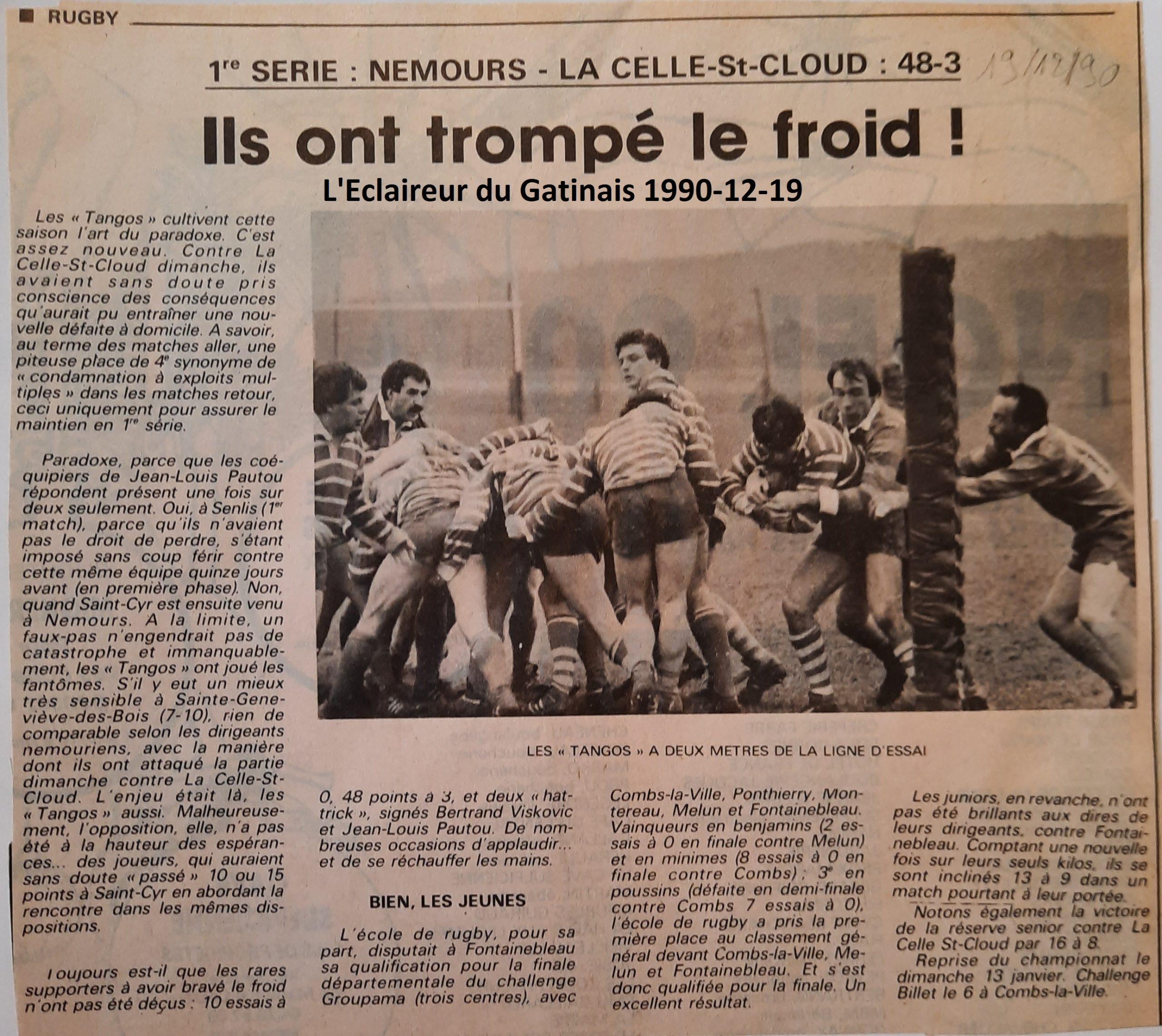 Eclaireur du Gâtinais 1990-12-19