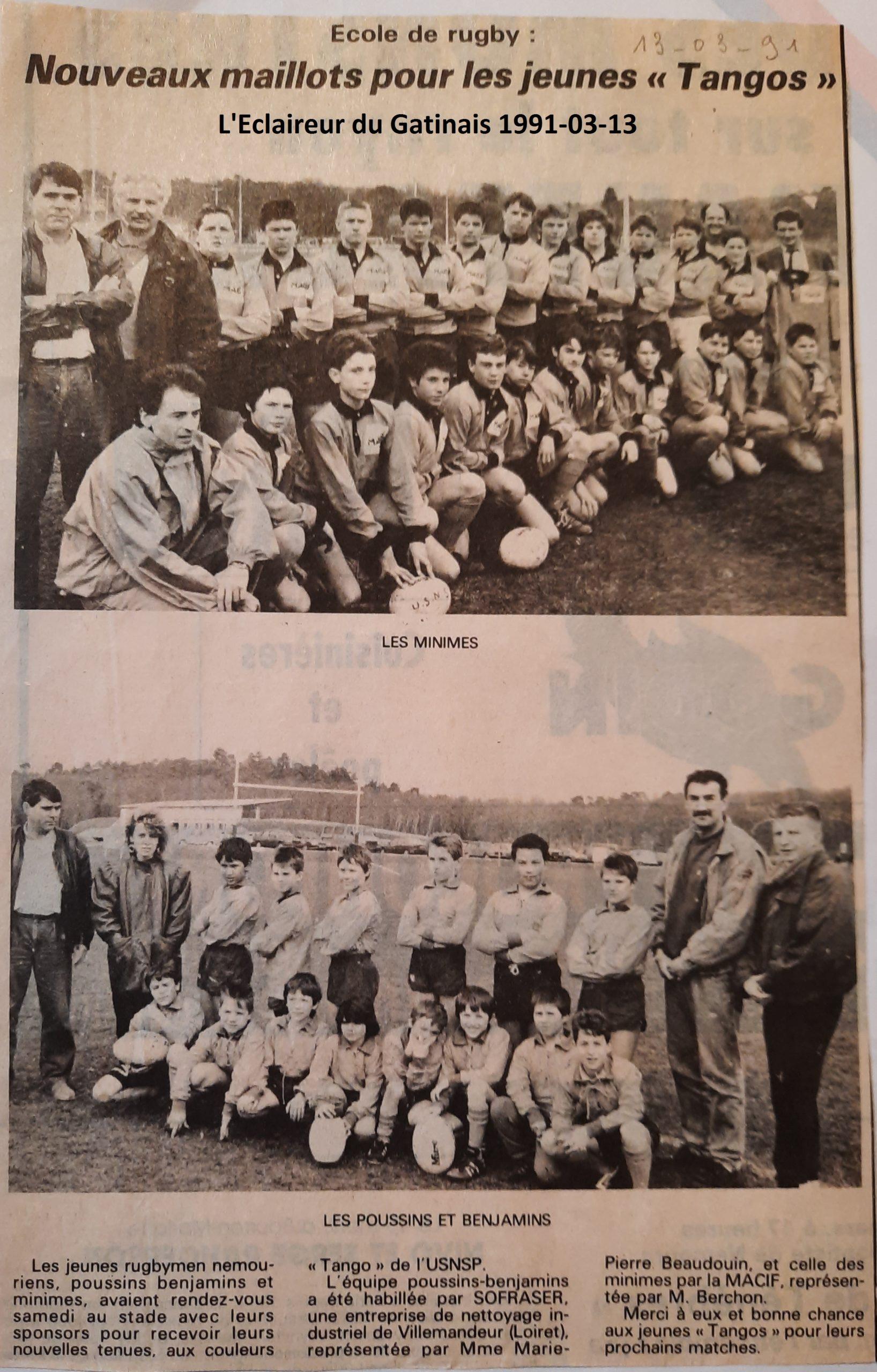 Eclaireur du Gâtinais 1991-03-13