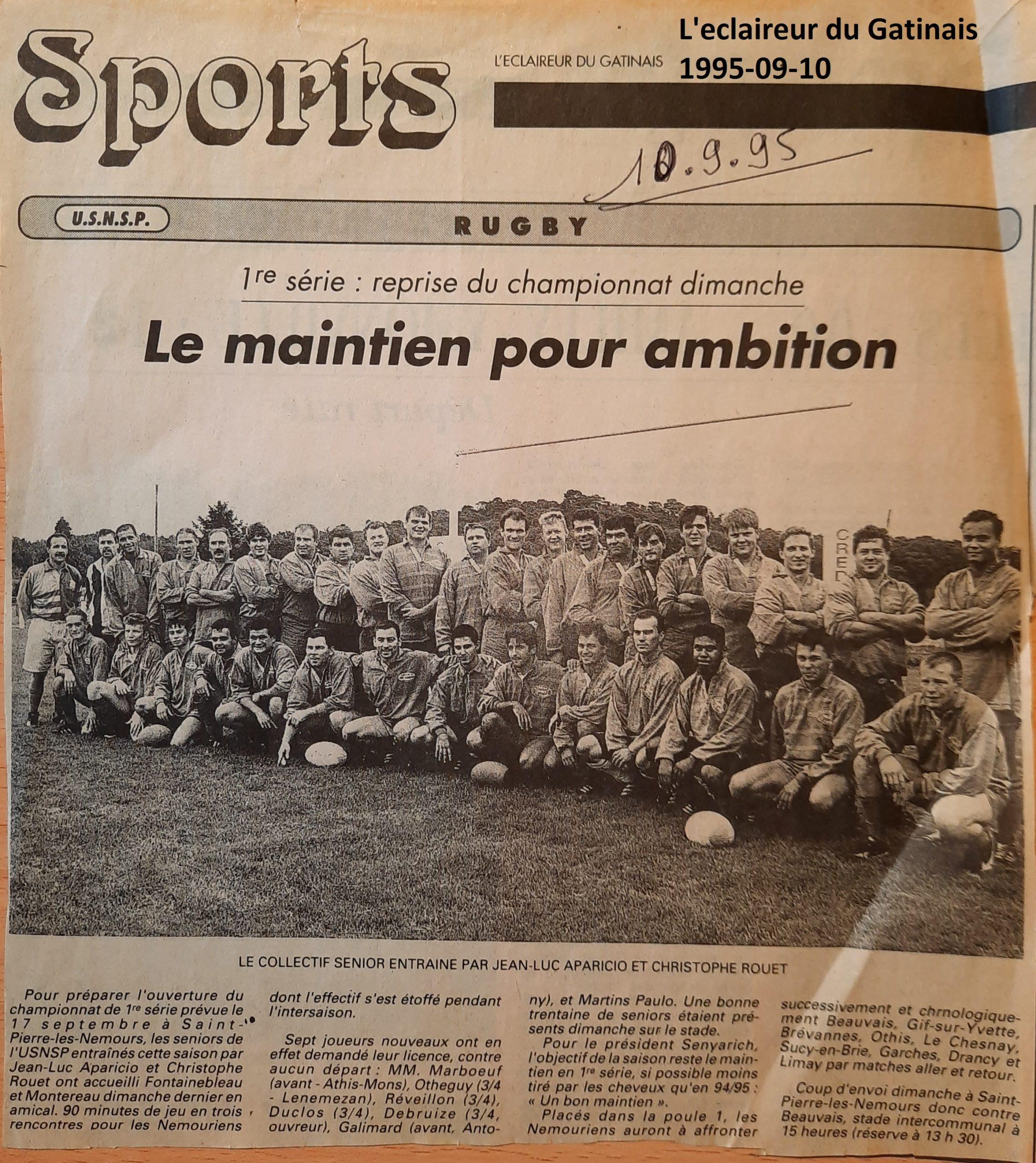 Eclaireur du Gâtinais 1995-09-10