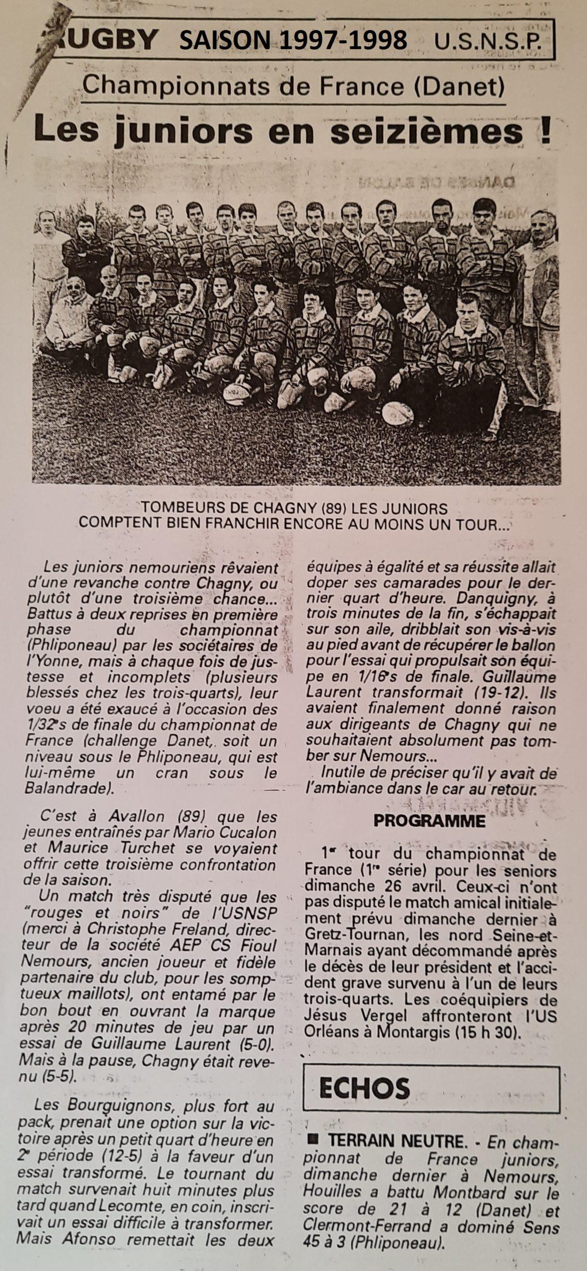 Eclaireur du Gâtinais 1998-04-22