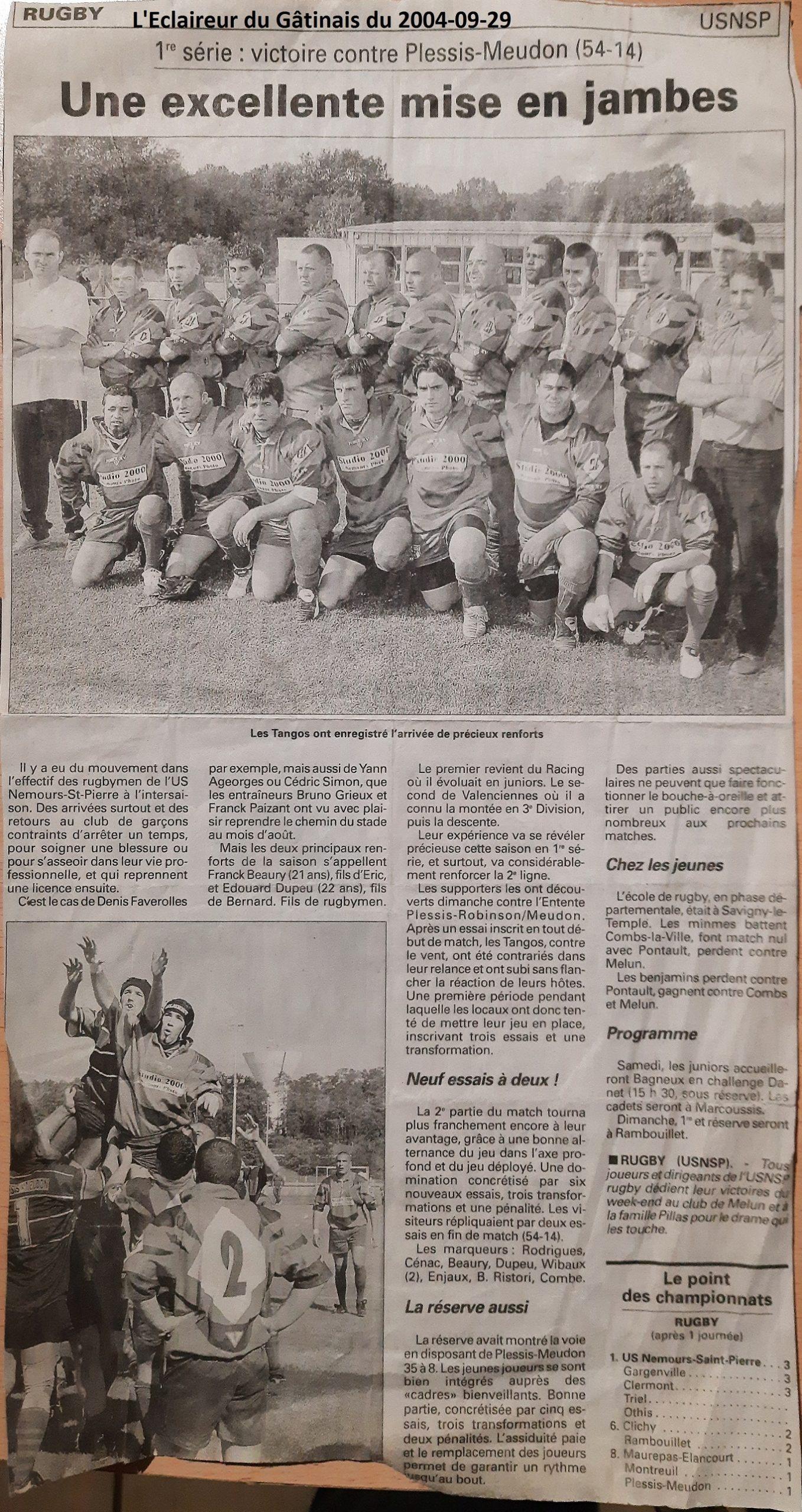 Eclaireur du Gâtinais 2004-09-29