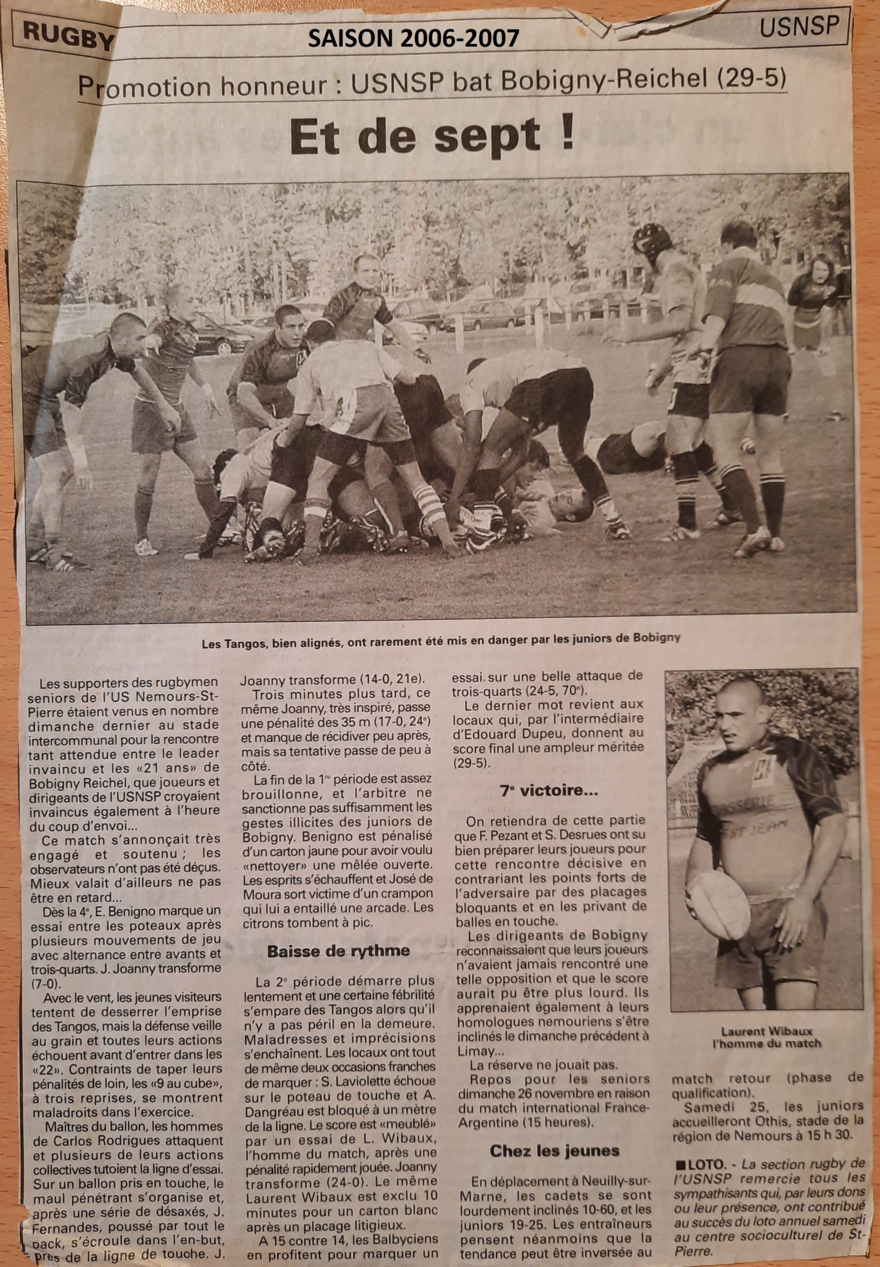 Eclaireur du Gâtinais 2006-11-22