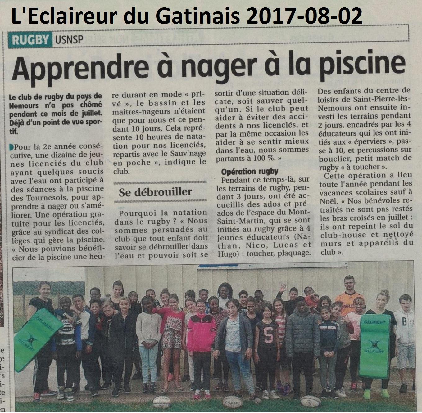 Eclaireur du Gatinais 2017-08-02