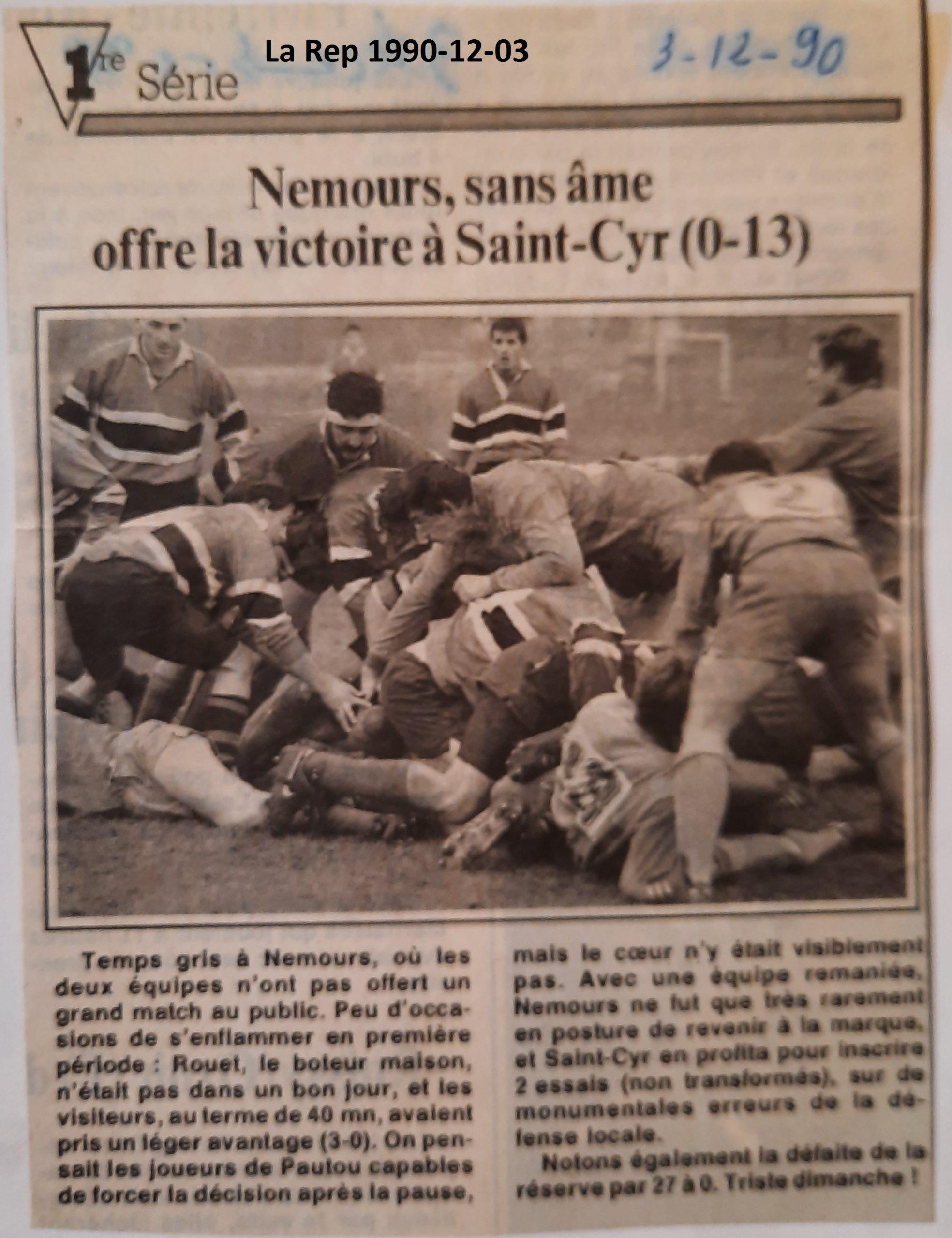 La République 1990-12-03