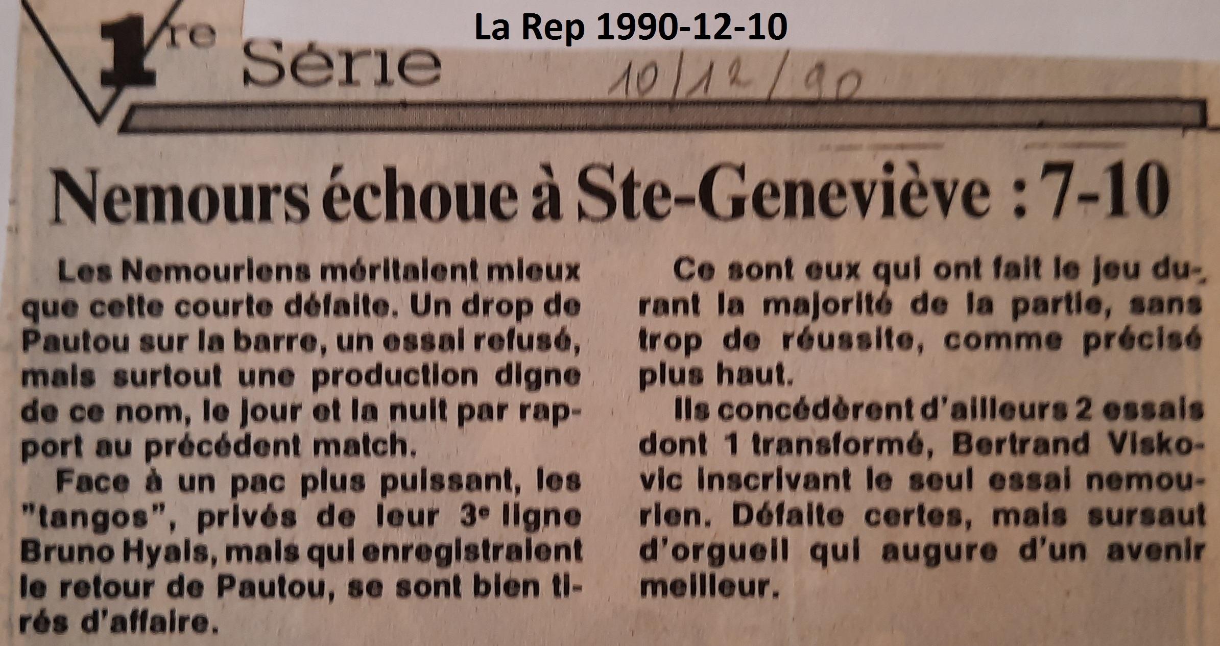 La République 1990-12-10