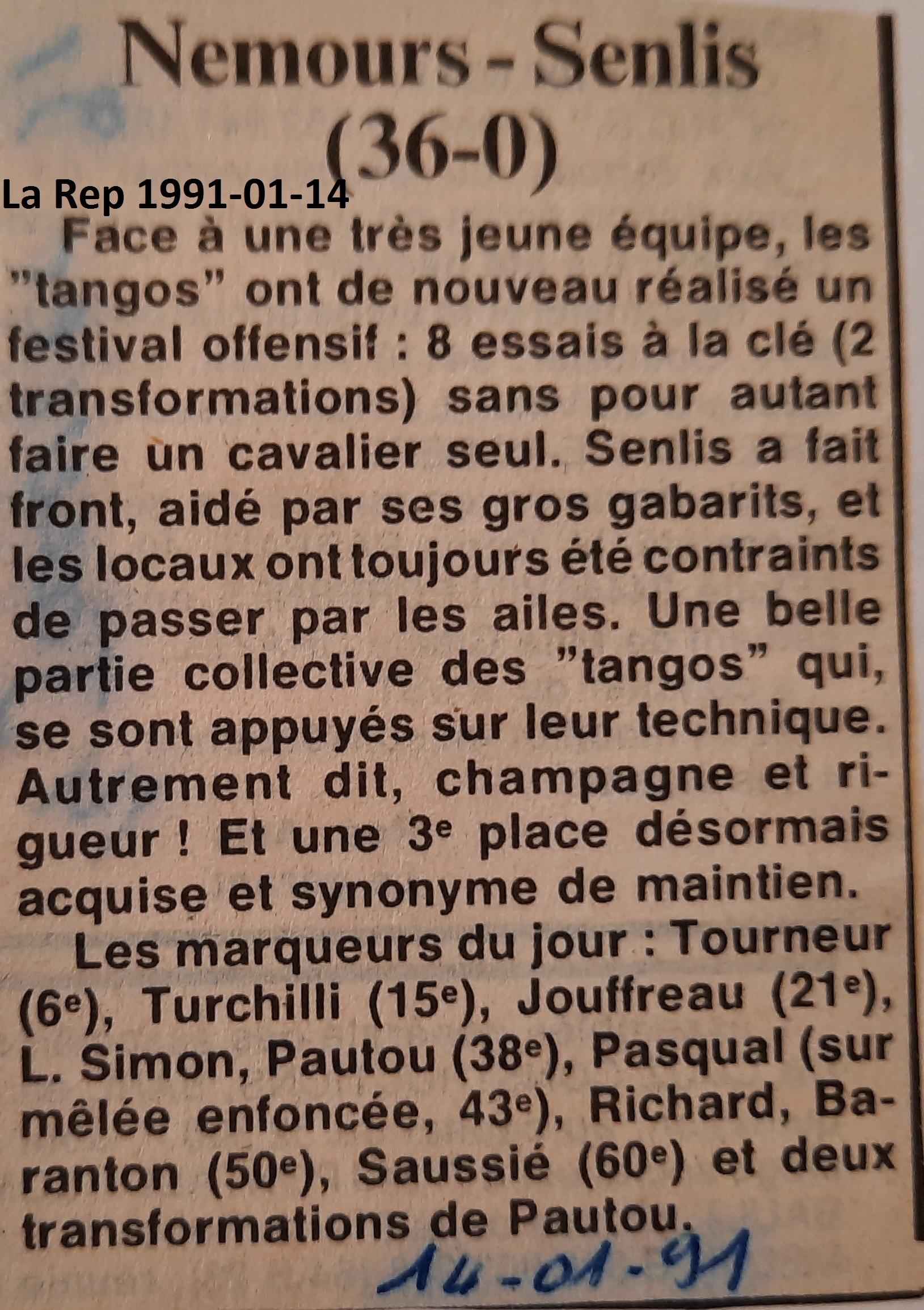 La République 1991-01-14