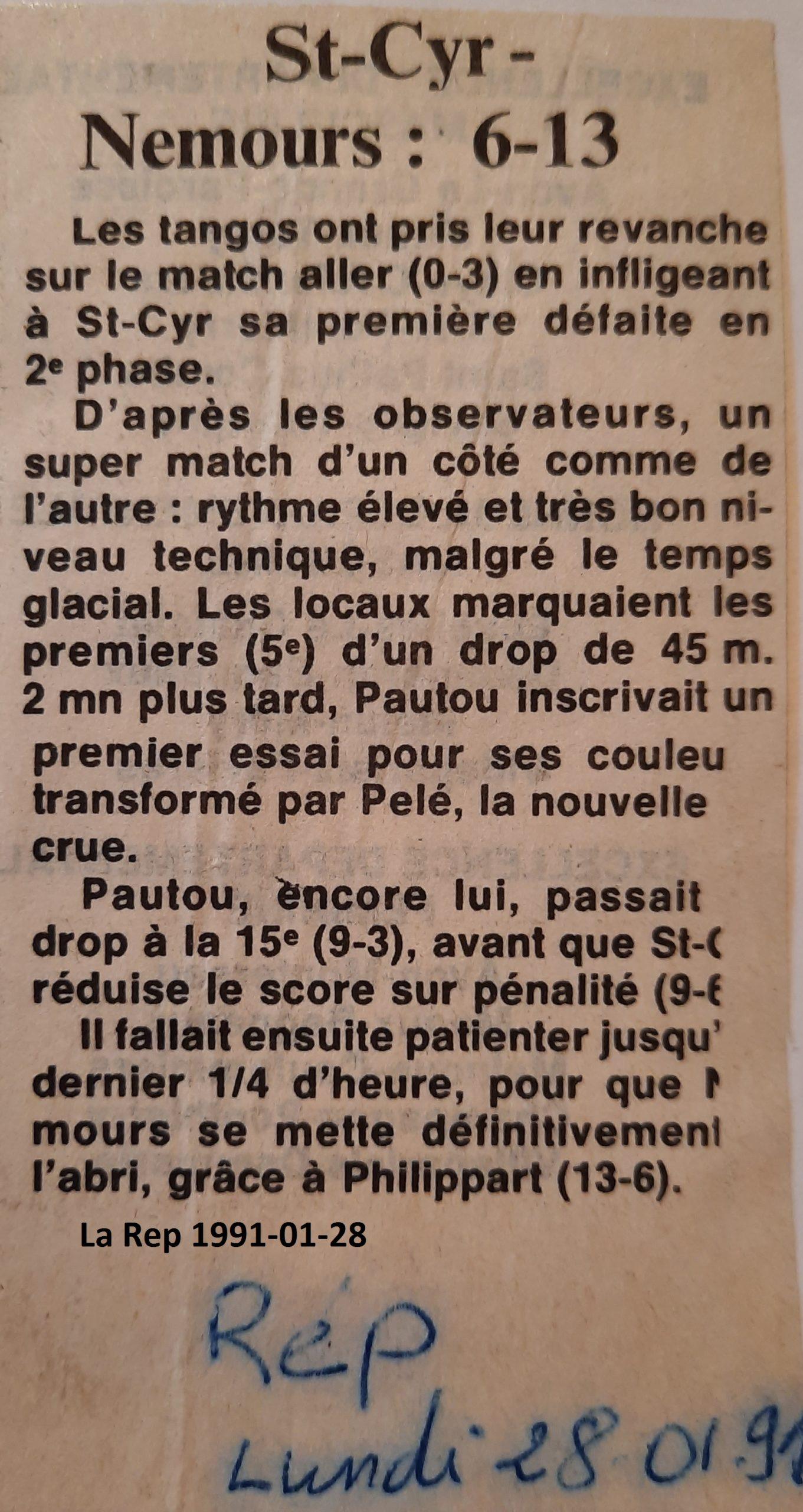 La République 1991-01-28