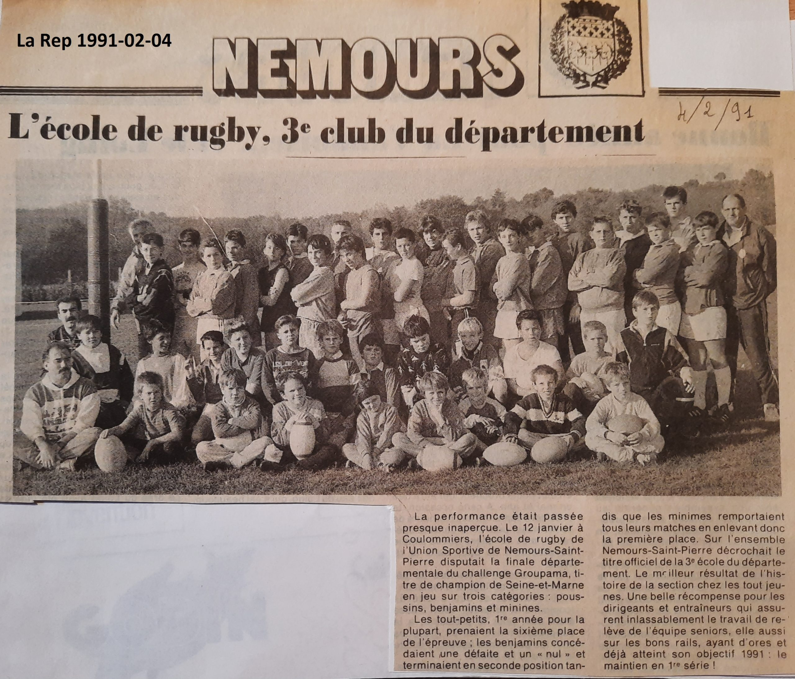 La République 1991-02-04A