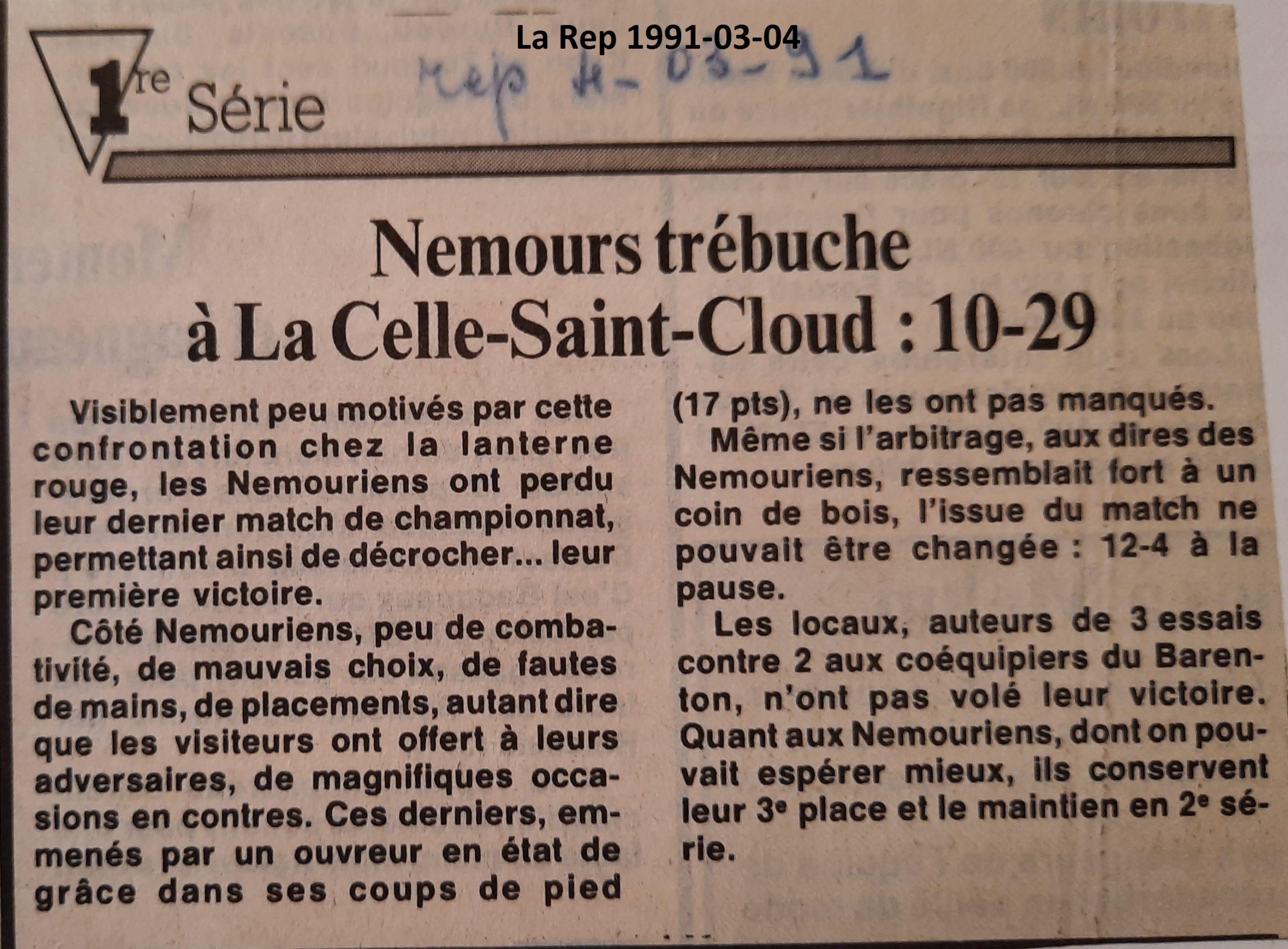 La République 1991-03-04