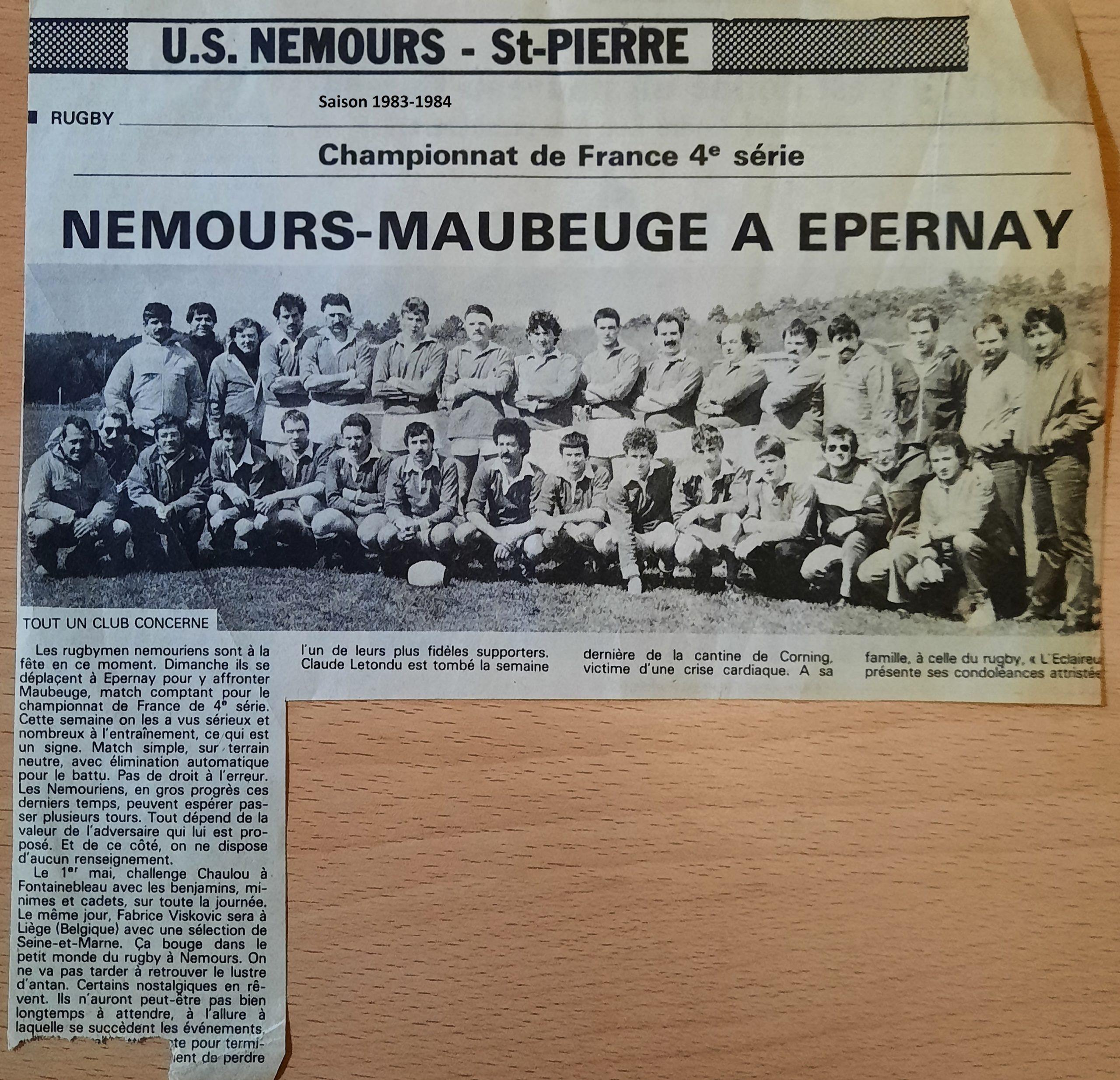 Saison 1983-1984