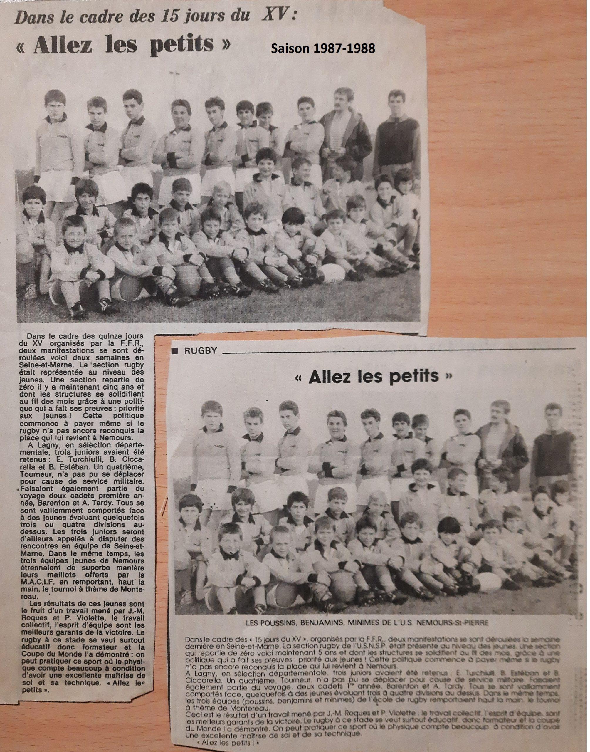 Saison 1987-1988
