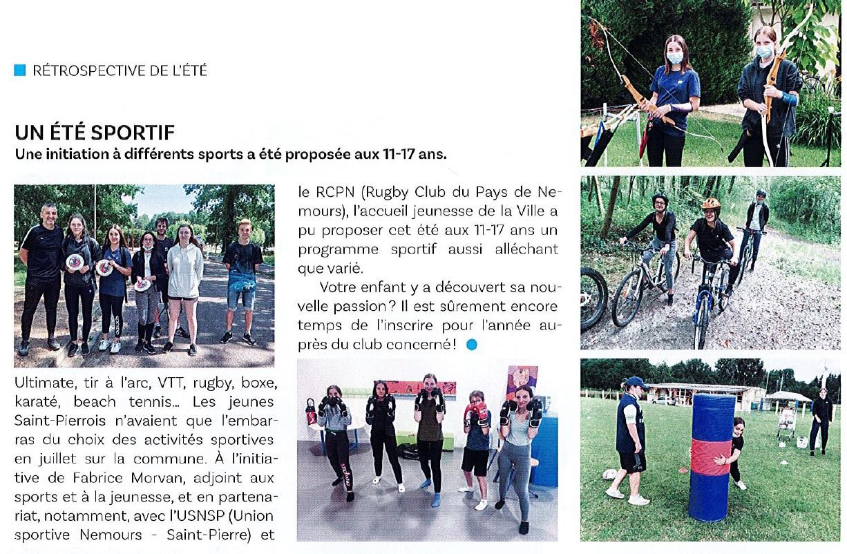 Journal de Saint Pierre - Octobre 2021